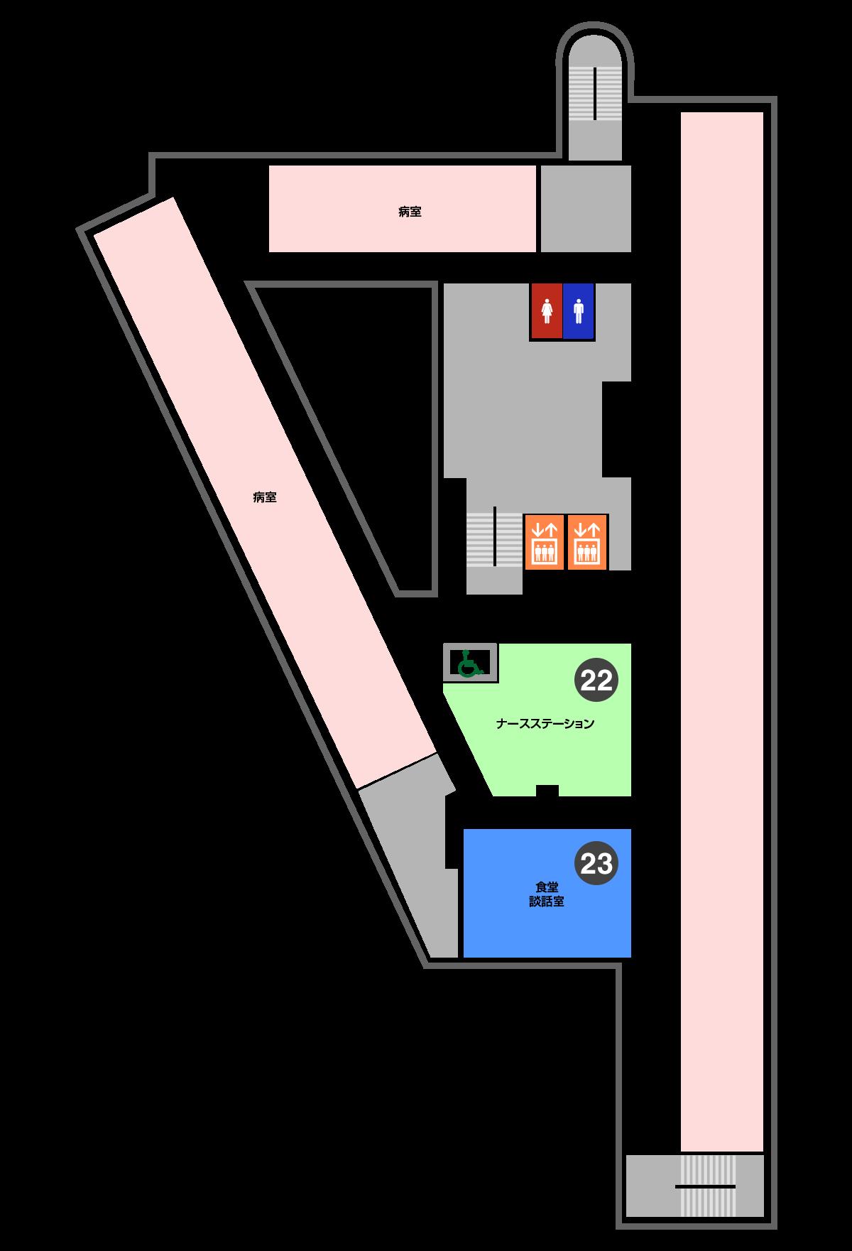 院内図3F