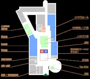 院内図1F